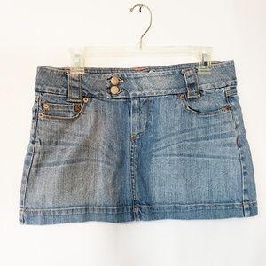 Refuge Denim Mini Skirt Juniors size 9